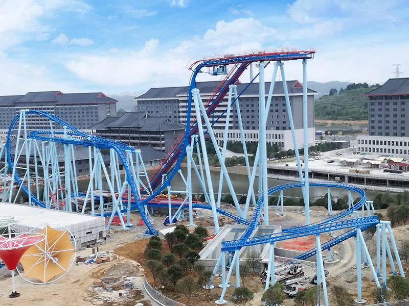 Amusement Thrill Vertical Roller Coaster GSC-24A