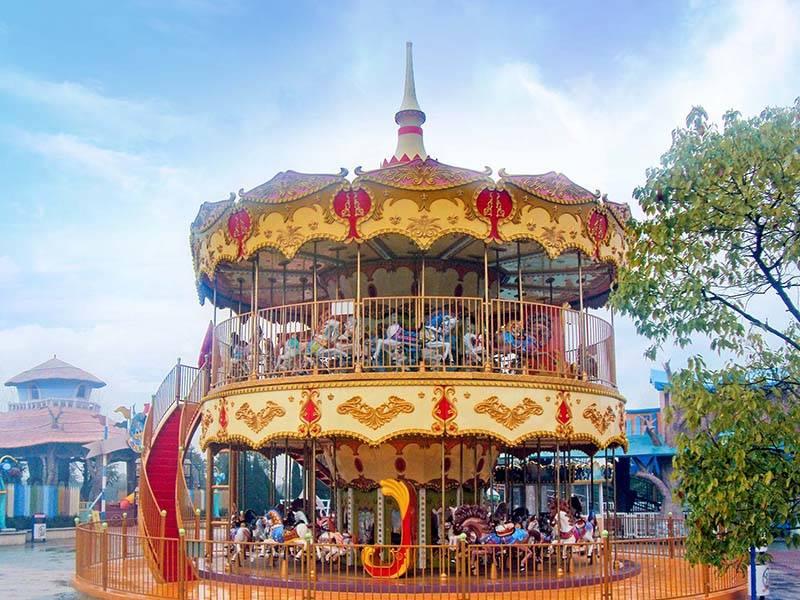 Amusement Park Carousel DW-68A
