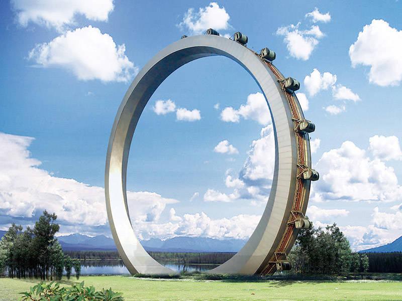 Giant Wheel Ride Theme Park  Ride GLC-98A