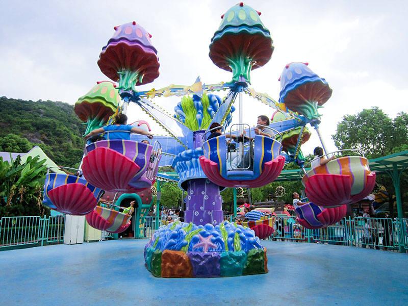 Carousel Kiddie Ride Jellyfish Ride SM-32A