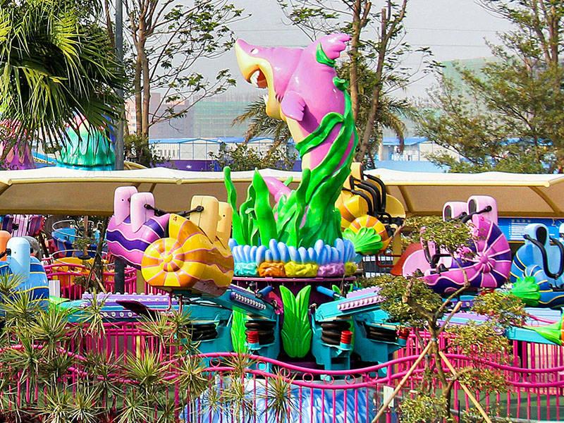 Kiddie Carnival Starfish Jets Ride TT-16A