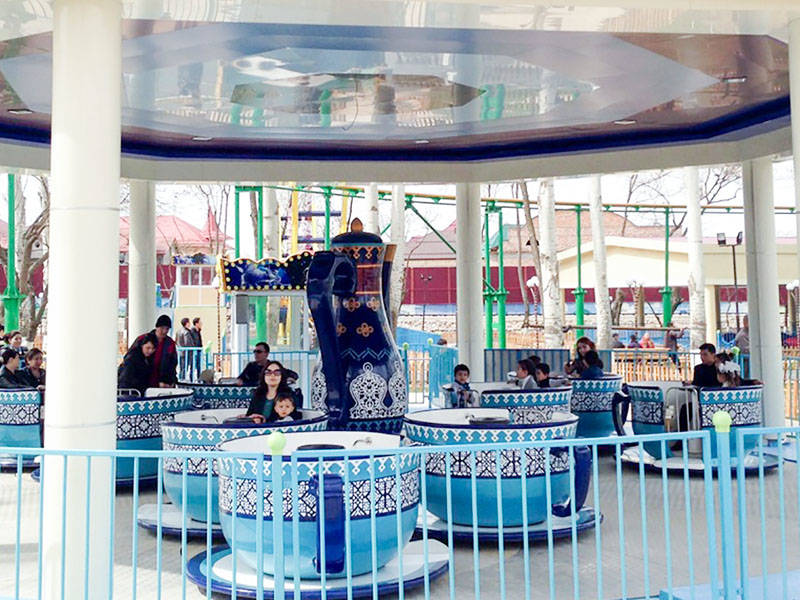 Amusement Park Ride Family Tea Cup Ride ZB-36A