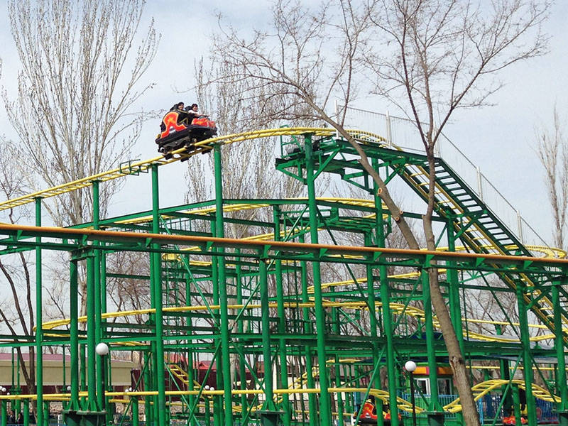 Theme Park Spinning Roller Coaster ZXC-24A