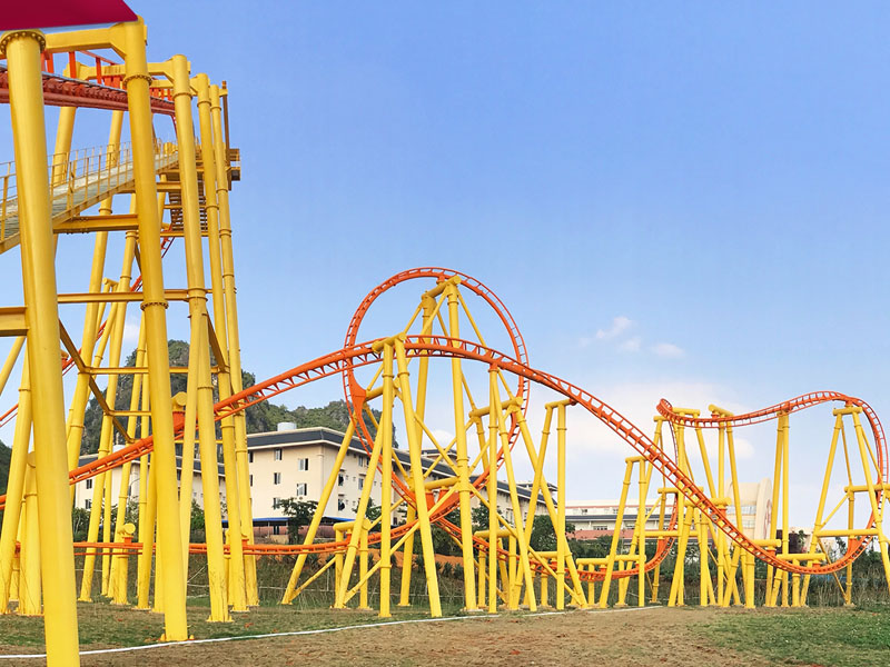 Jinma Rides New big roller coaster for business on sale-1