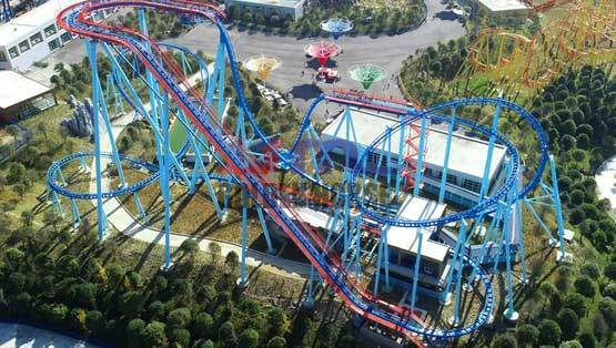 Vertical Thrilling Roller Coaster GSC-24A Jinma Rides