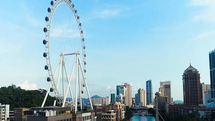 Jinma Giant Wheel Ferris Wheel GLC-83A