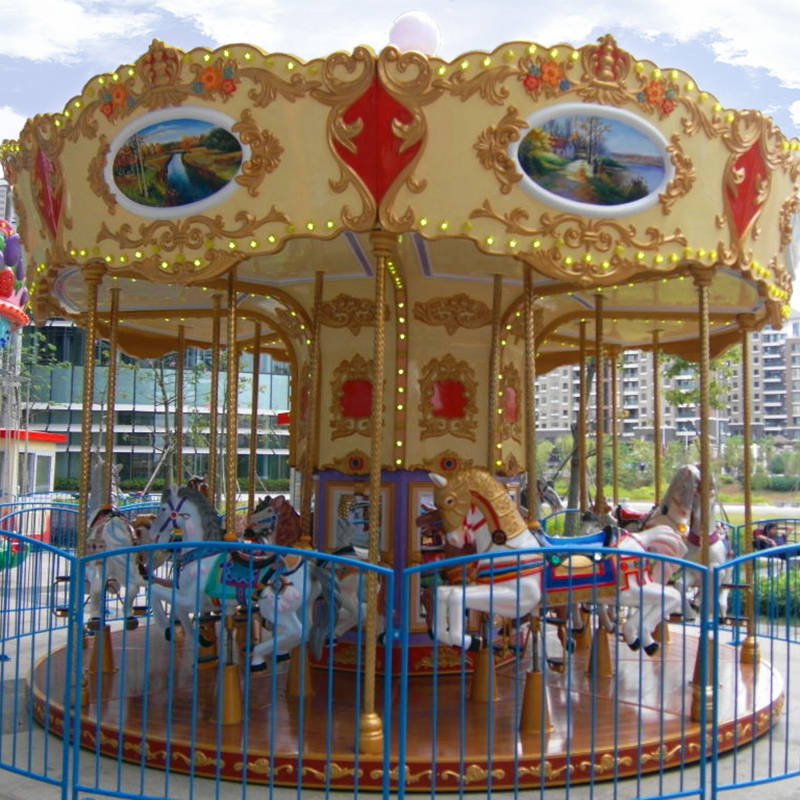 Fun Amusement Park Carousel  DW-16A