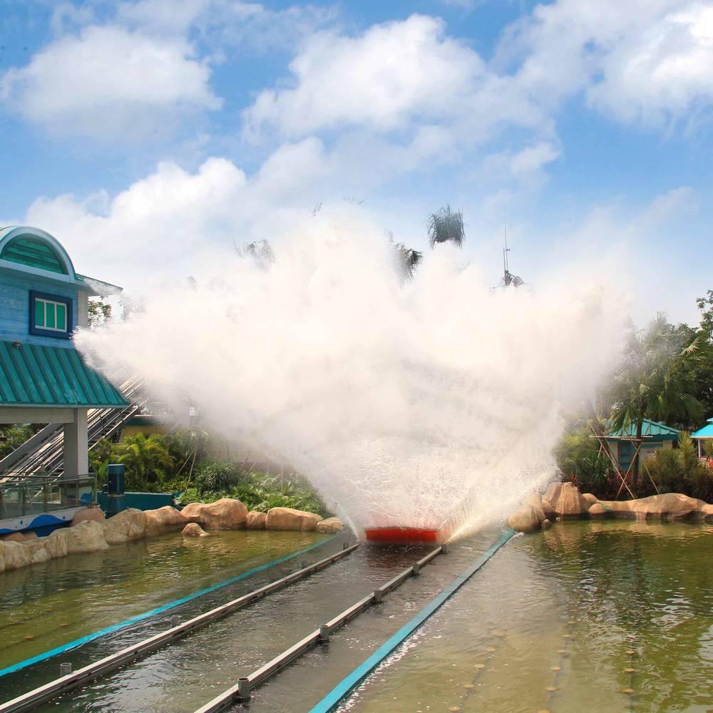 Water Ride Theme Park   Chute Ride JL-15B