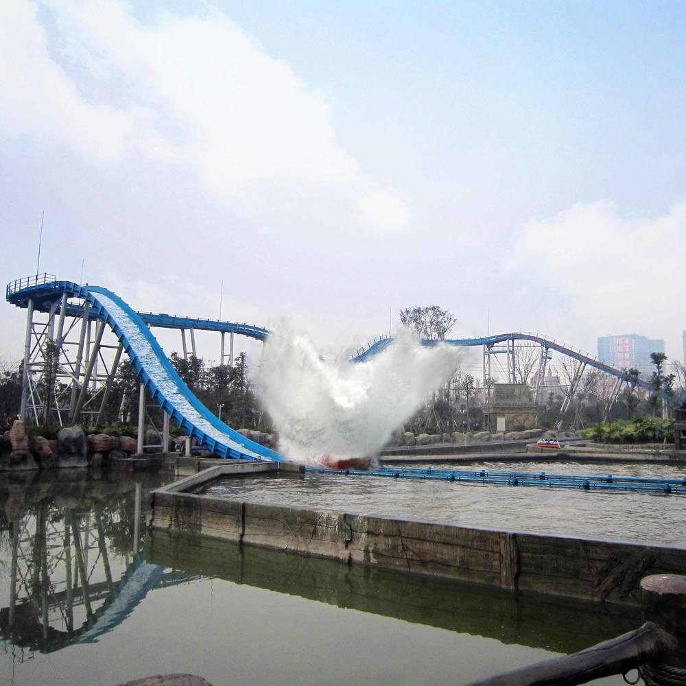Amusement Park Water Chute Ride JL-15F
