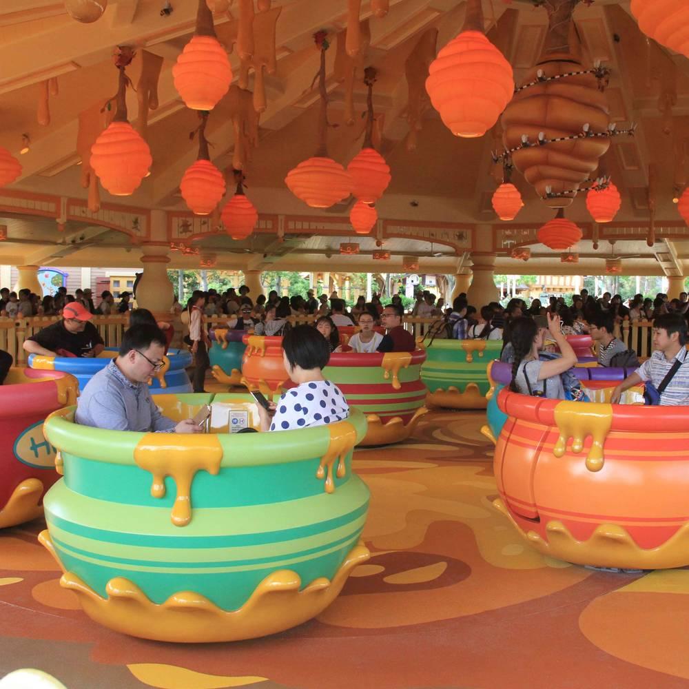 Amusement Park Family Ride Tea Cup Ride ZB-72B