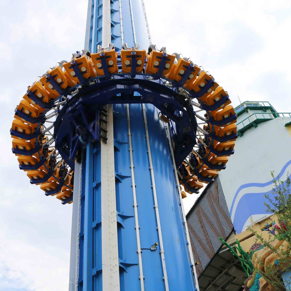 Free Fall Tower Carnival Ride ZYT-28A