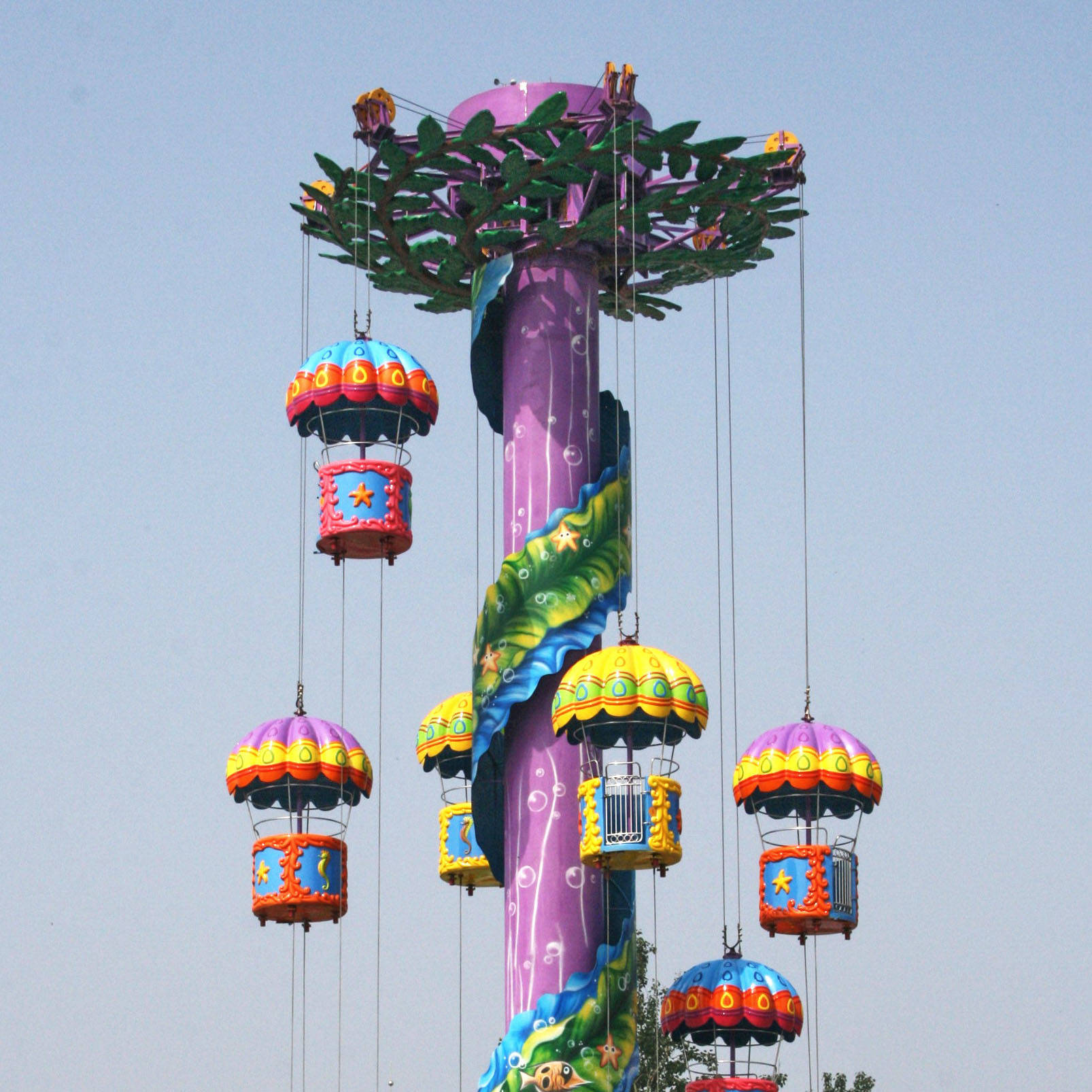Freefall Ride Parachute Amusement Park RideTST-18A
