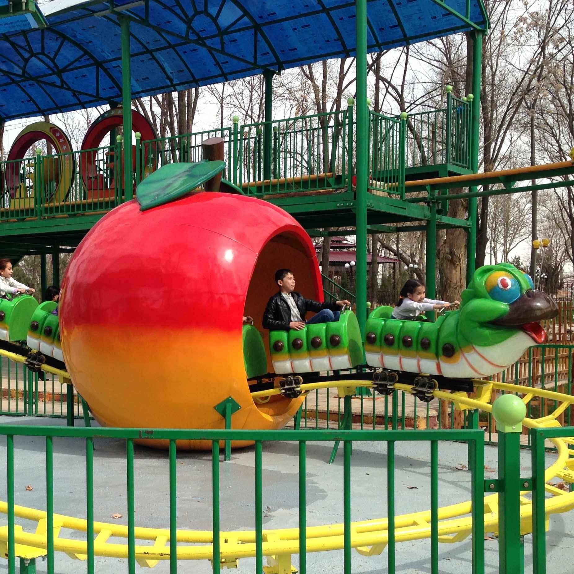 Kiddie Ride Fruit Worm Coaster Carnival Ride RHC-6B