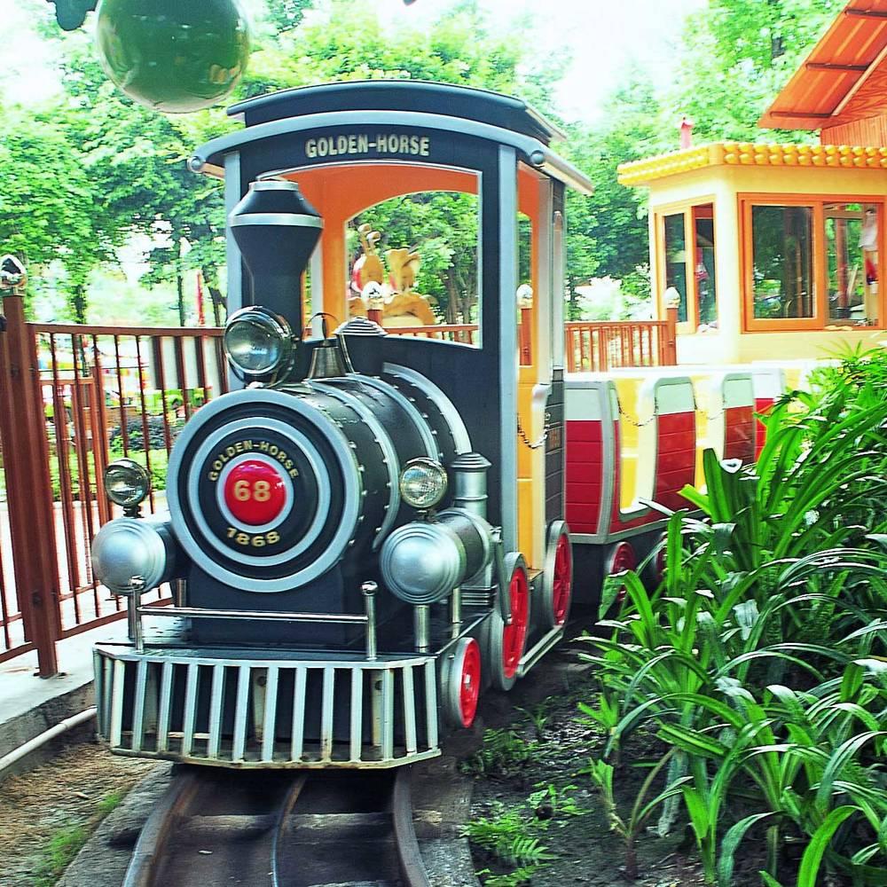 Amusement Park Train Kiddie Ride XHC-18D