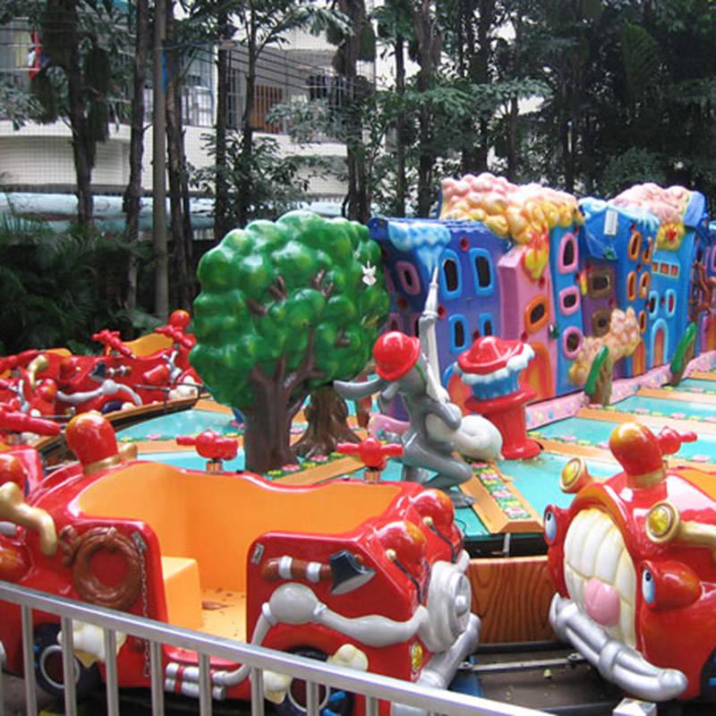 Funny Kiddie Ride Fire Brigade Ride YGD-12A