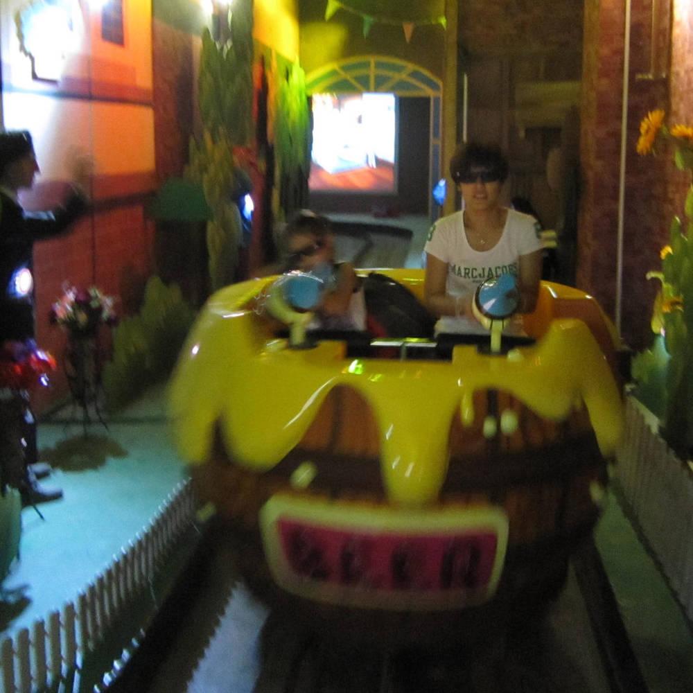Amusement Park Dark Ride 4D Theater Alert HZC-8A