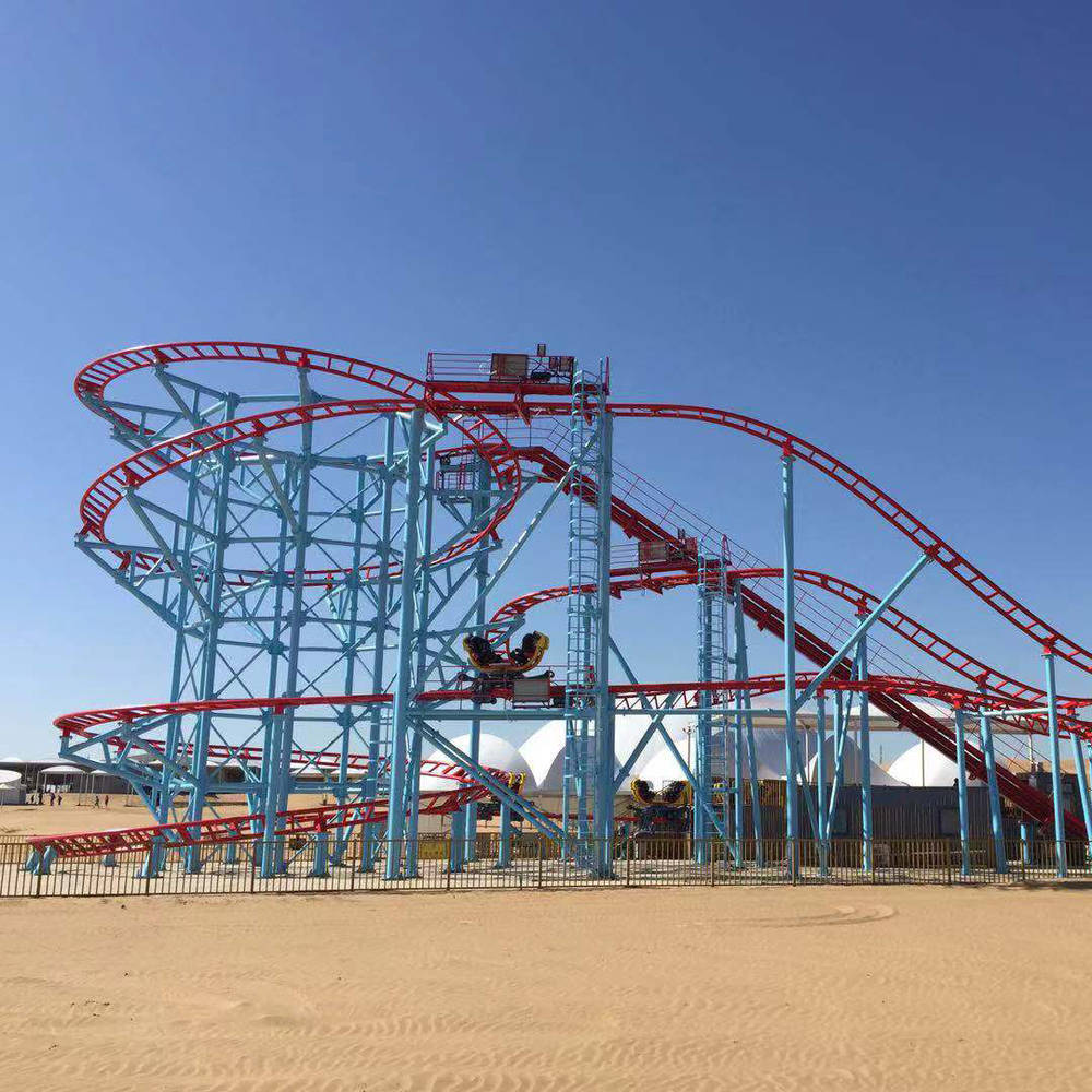 Amusement Park Super Spinning Carnival  Coaster ZXC-4D