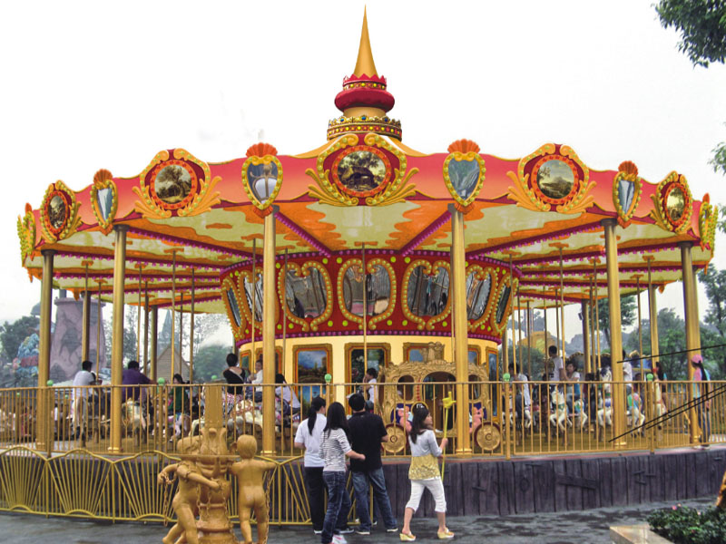 Jinma Rides New horse carousel ride manufacturers for promotion-1