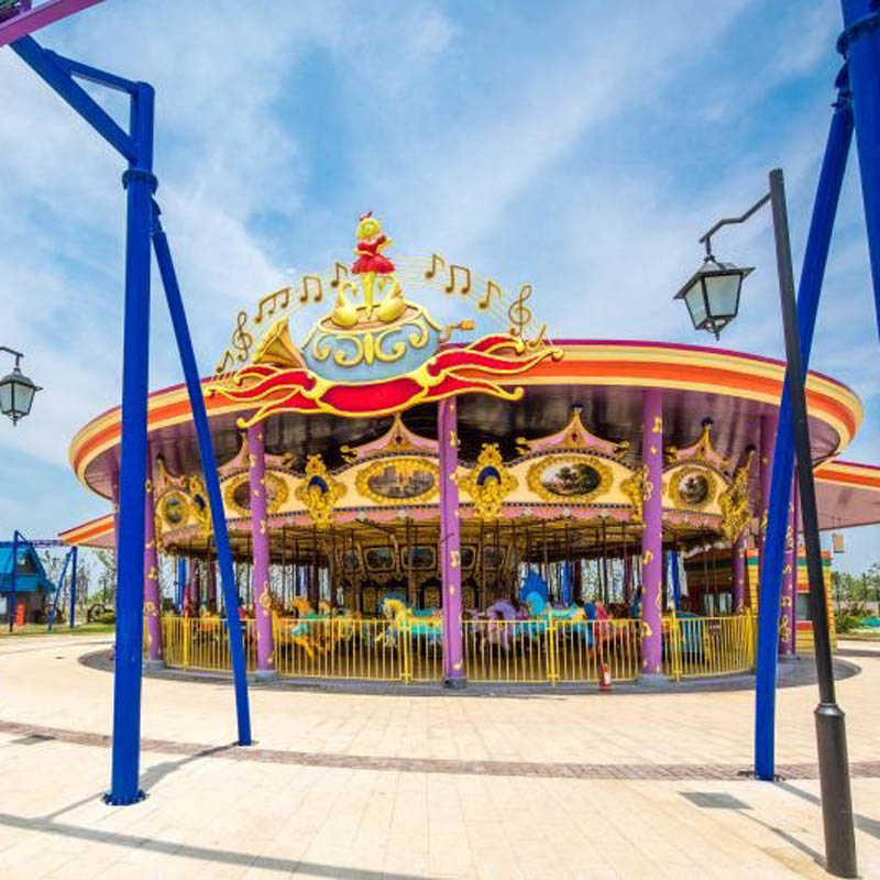 Jinma Rides Custom antique carousel for sale Suppliers for promotion-1