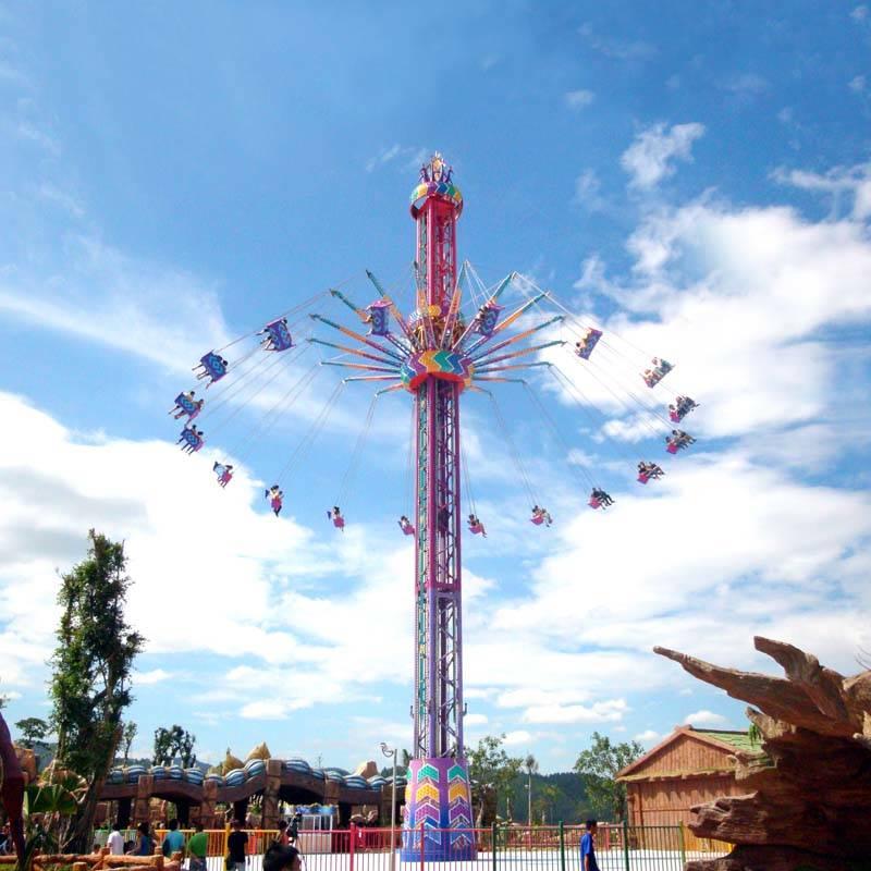 Tower Challenger Swings Amusement Park Ride FXT-42A