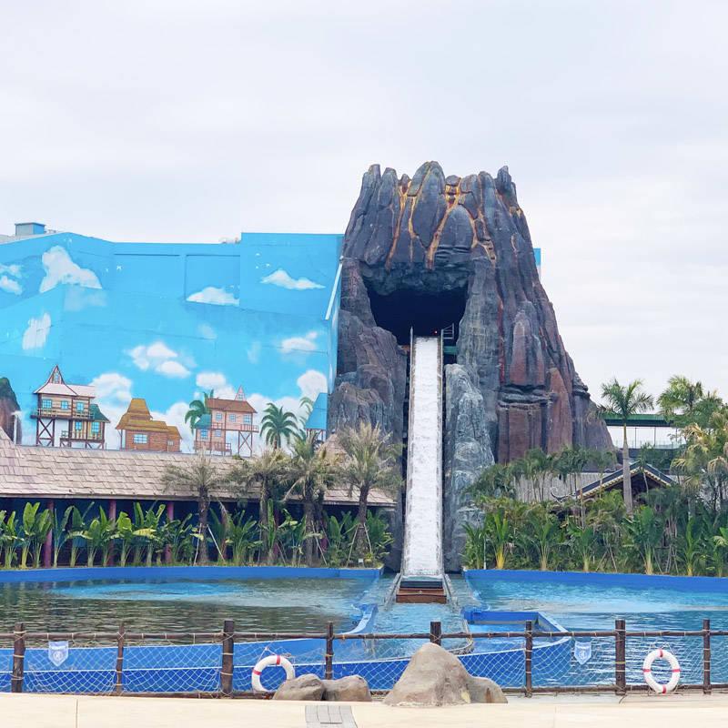 Amusement Park Water Ride Chute Ride JL-20A