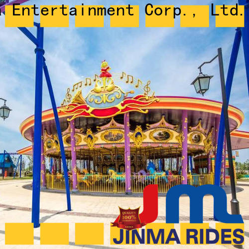 Jinma Rides Custom antique carousel for sale Suppliers for promotion