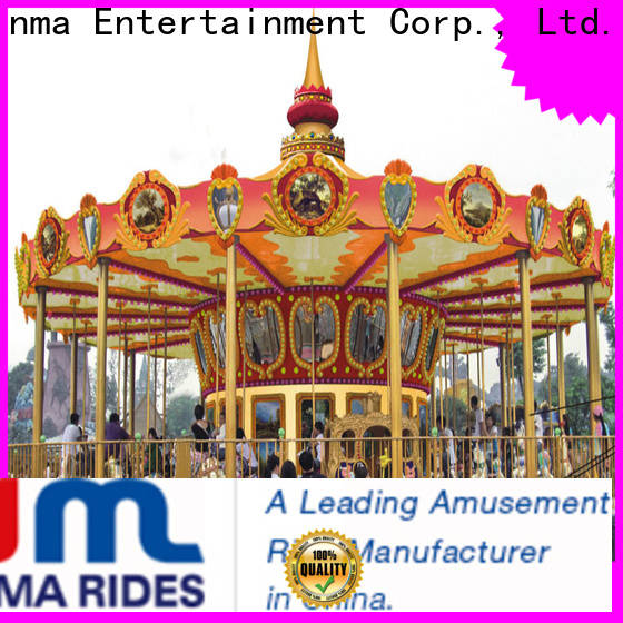 Jinma Rides New horse carousel ride manufacturers for promotion