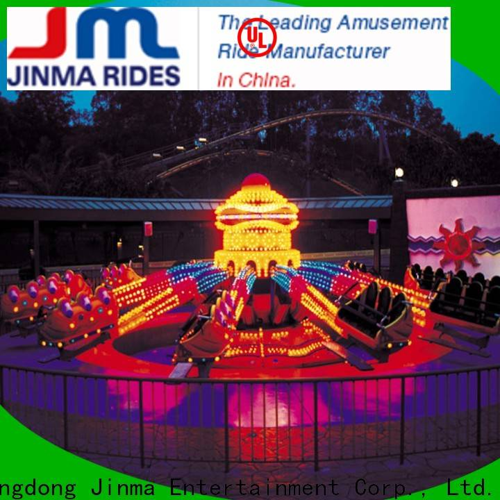 Jinma Rides giant frisbee ride for business for promotion