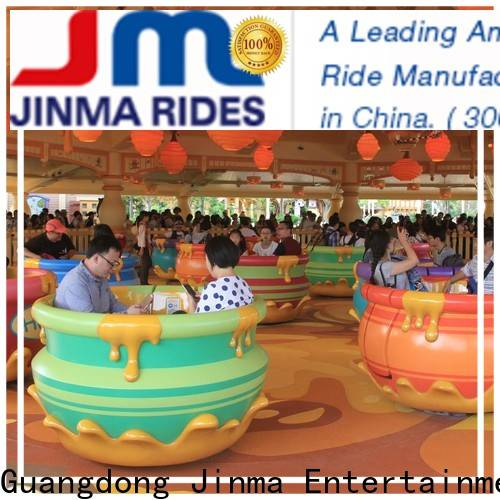 Jinma Rides Custom spinning amusement park ride company for promotion