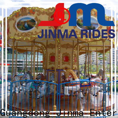 Jinma Rides OEM best kiddie carousel for sale Supply for sale