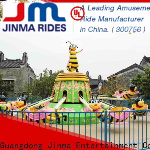Jinma Rides Custom OEM kiddie carousel for sale for business for promotion