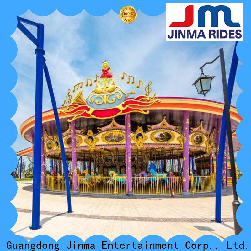 Jinma Rides double decker carousel for sale for business for sale