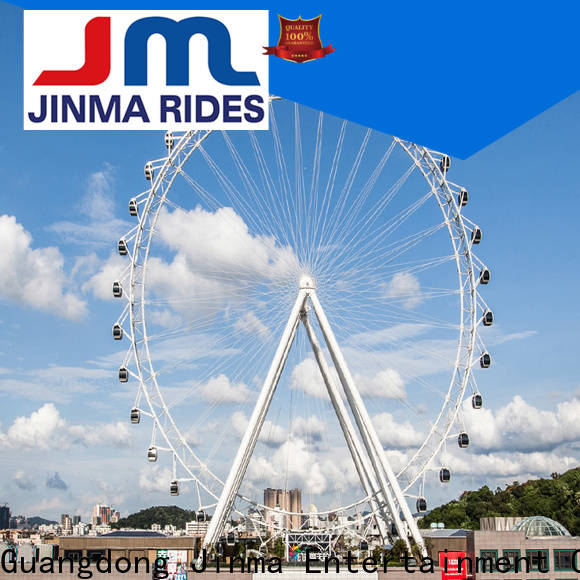 Jinma Rides ODM high quality best ferris wheels factory for sale