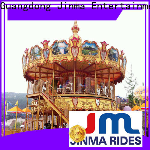 Jinma Rides Latest children's carousel for sale factory on sale
