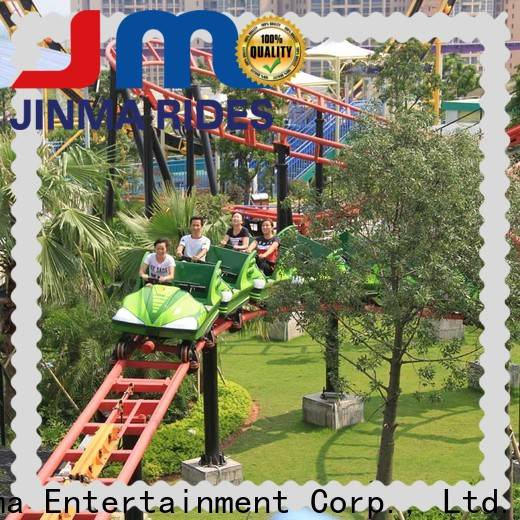 Jinma Rides Custom smallest roller coaster for business for promotion