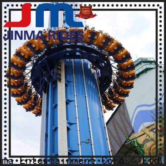 Jinma Rides Bulk purchase free fall amusement park ride factory for sale