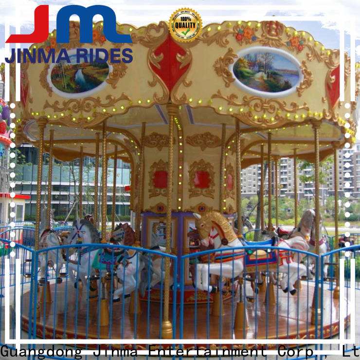 Jinma Rides Latest grand carousel manufacturers for sale