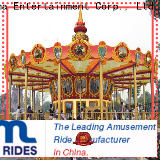 Jinma Rides ferris wheel and carousel company for sale