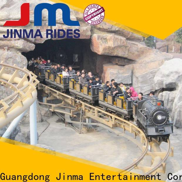 Jinma Rides New purple roller coaster factory for promotion