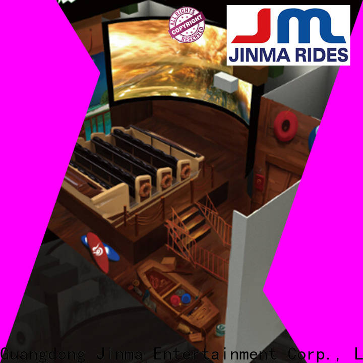 Jinma Rides New 4d simulator for business on sale