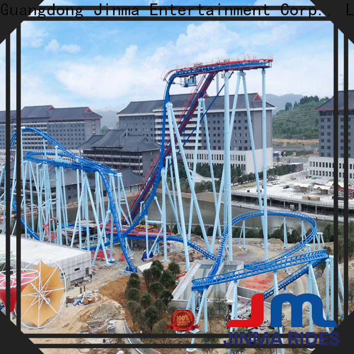Jinma Rides Wholesale best tall roller coaster for business on sale