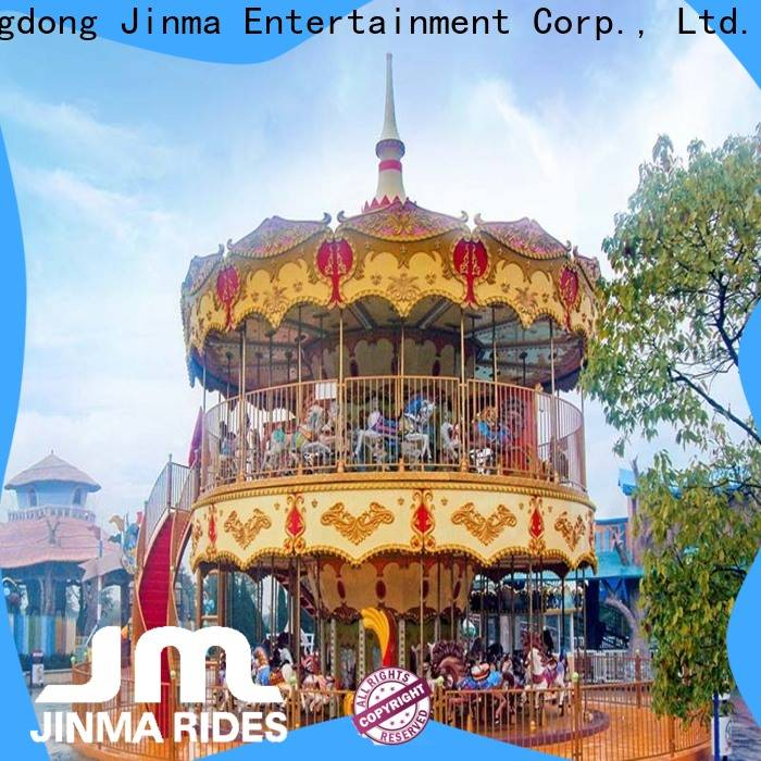 Jinma Rides Wholesale OEM carousel for children Suppliers for promotion