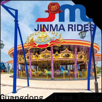 Jinma Rides ODM amusement park carousel manufacturers on sale