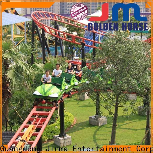 Jinma Rides white roller coaster company on sale