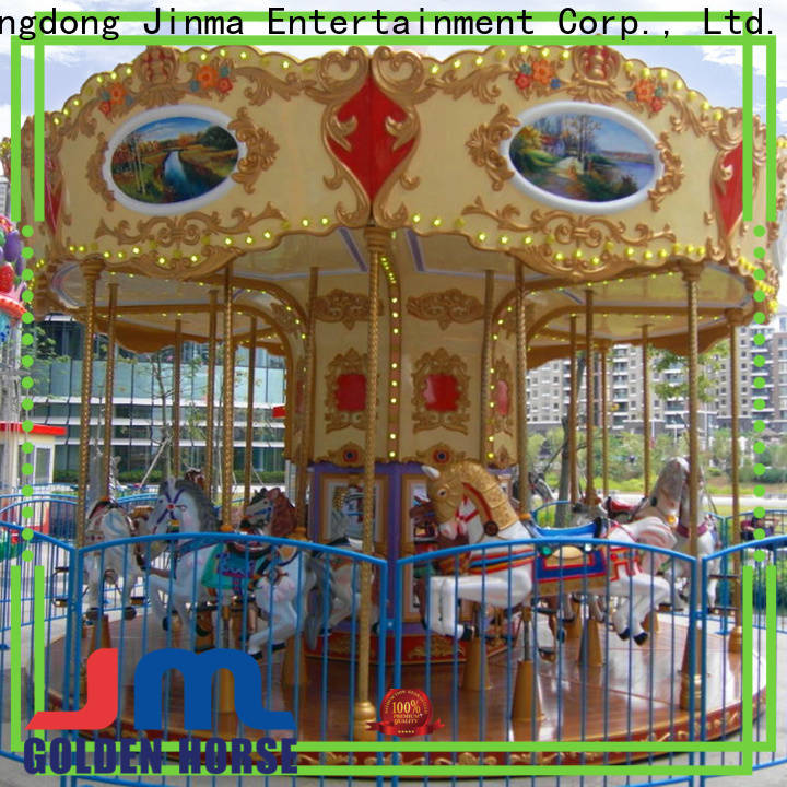 Jinma Rides ODM best outdoor carousels company on sale
