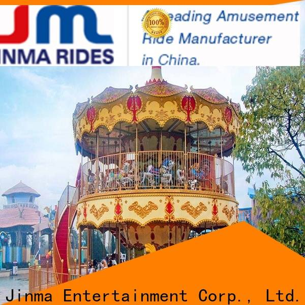 Wholesale OEM antique carousels factory for sale