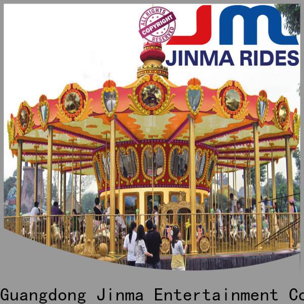 Jinma Rides Bulk buy ODM amusement park carousel Suppliers for sale