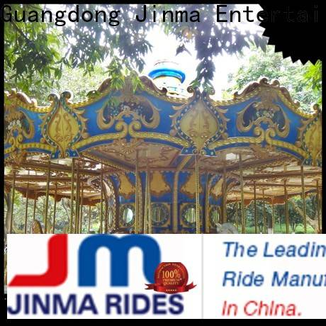 Jinma Rides ODM high quality horse carousel ride Supply for promotion