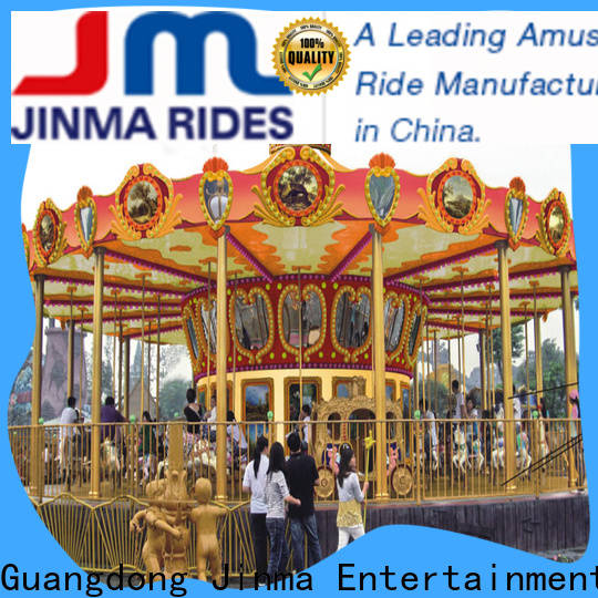 Bulk purchase carousel horse ride manufacturers for promotion