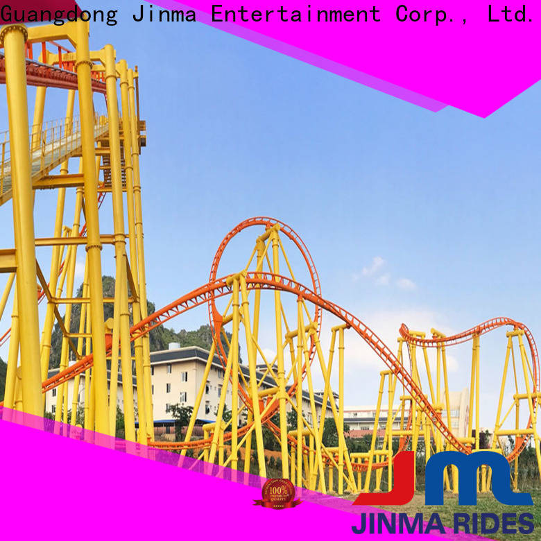 Jinma Rides Best lay down roller coaster factory for sale